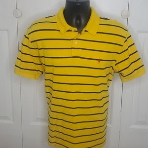 POLO By RALPH LAUREN Yellow Polo Shirt Size L